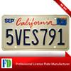 CALIFORNIA license licence plate plates USA ,colorful enamel pattern souvenir car license plate,colorful usa car license plate