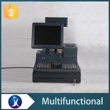 Multifunctional electronic cash register billing pos machine for supermarket