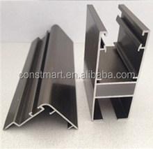 Charnière en aluminium fabrication fournisseur fenêtre coulissante en aluminium