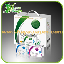 Ultra Soft Active Oxygen Sanitary Pads with negative ion feminine sanitary napkin