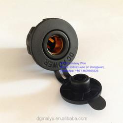 Automotive Accessary 12V Car Dashboard Power Socket Outlet Fits BMW & Hella Plug