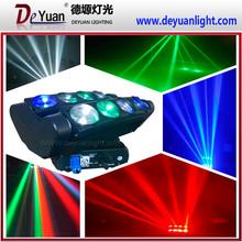 Super cool led spider beam moving head 8pcs*12W rgbw dj light