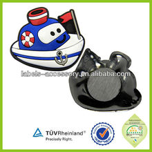Factory high quality fast delivery 2D / 3D fridge magnet soft rubber