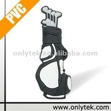 Customized Golf Bag Shape USB Flash Drive