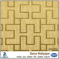 modern metallic decoration home 3d bamboo wallpaper