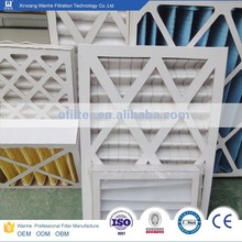 air filter sythetic G3 manufacture customized size for clients