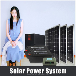 Suntotal 9000W solar air conditioner solar power system for small home with solar panel