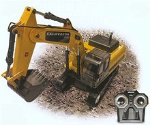 RC EXCAVATOR RTR RC Hobby Engine RC Toys 0803 EXCAVATOR Multi-Function Electric-Powered RTR yellow