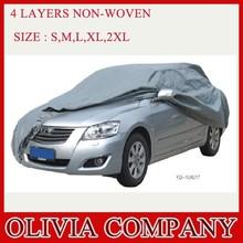 4 layers non woven sun protection car cover