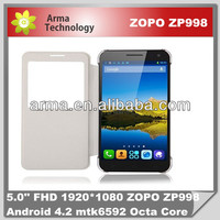 New Arrival 5 Inch FHD ZOPO ZP998+ Phone 1GB/16GB Android MTK 6592 Octa core smart mobile phone