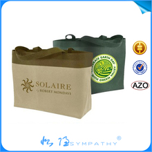 cheap customized printing wine carrier bag