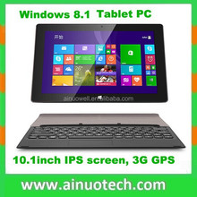 "window 8 tablet pc 10.1"" IPS screen 1G 32G GPS 3G WIFI Bluetooth"