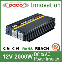 DC TO AC Power Converter/Inverter 2000W with CE