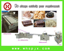 WH-710 Semi-automatic Electric Crispy Nutritional Cereal Bar Cutting Machine Production Line