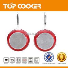 Metallic paint nonstick coating fry pan