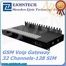 Anti Sim Blocking!! Ejoin goip 32-128 goip gsm sms gateway, gsm voip gateway 16 port, remote controls