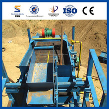 Efficient Clean Out Gold Washing Plant with High Mineral Concentration Ratios