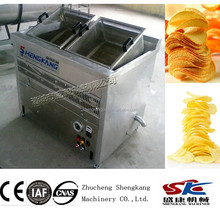 SK potato chips small electric heating fring machine manufacturing company