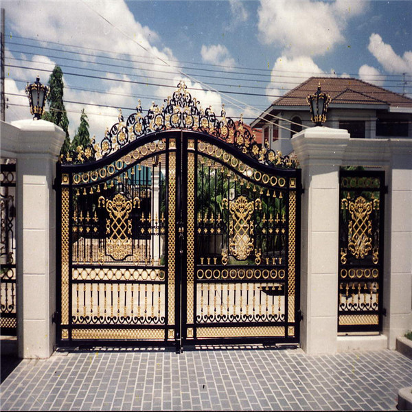 Black Gate Wall Decor : House gate designs wrought iron models