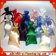 Custom Wholesale Satin Shoe Bag /Satin Gift Bag/Satin Cosmetic Bag