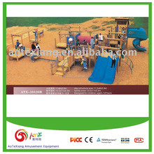 Kids' Outdoor Wooden Playground- Large size Integrated design