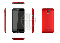 Ultra-thin china mobile phone 4.5 inch screen android phone dual sim HG brand cheapest cell phone for dealers