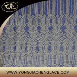YJC18999-1 Cotton wedding embroidery lace fabric