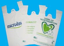 biodegradable plastic bag raw material