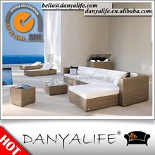 DYSF-JN51 Danyalife Outdoor Plastic Single corner sofa set