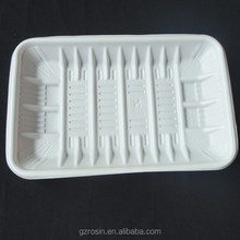 Disposable Frozen Food tray/ PP/PET plastic cookie tray packaging