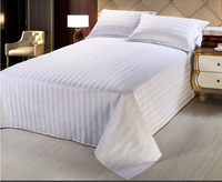 100% cotton high quality popular hospital bed sheet