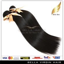 Bella Brazilian Straight Hair Reviews,Wholesale Natural Color 20 inch virgin remy brazilian hair weave