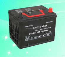 60AH Maintenance Free Automotive Battery 12V Battery