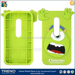 for motorola G3 monster cartoon silicon case