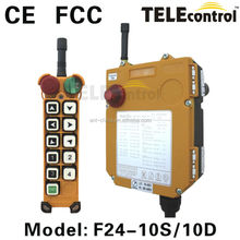 Nice Appearance Wireless Transmitter and Receiver, F24-10S, Radio Remote Controls