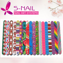 Healthy Disposable Nail File Personalized Wooden Nail File, abrasive nail file