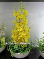 W1011 artificial dancing orchid flower bonsai
