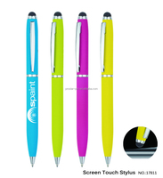 promotion twist metal stylus touch pen
