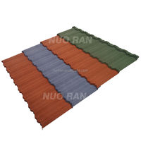 NUORAN High quality colorful steel roofing tile /metal roof tile/roof tile paint