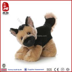 High quality customized dog toys wholesale plush toy german shepherd