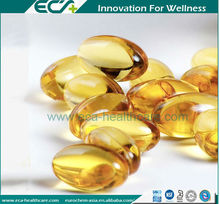 Natural Dietary Supplement Omega 3 Cod liver Oil Softgel