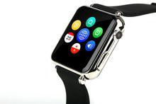 2015 hot factory supply smart watch,sleep monitor camera pedometer sim card slot 1.54inch phone smart watch