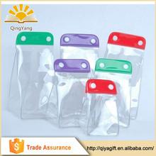 New arrival custom made heavy- duty mini gift cute clear waterproof pvc transparent bag