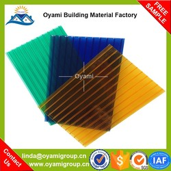 UV reflective colored transparent polycarbonate plastic guangzhou for skylight