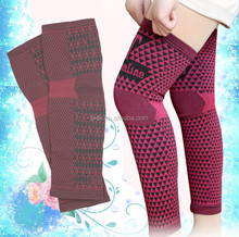 Hot sale nano tech knitted long knee warmer