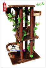 Luxury Colored Sisal Rope Cat Trees for Kissa