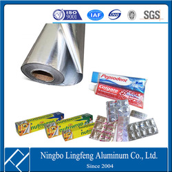 aluminium foil raw material manufacturer for packing