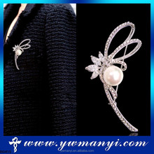 Factory hot selling wholesale make ribbon brooch with China supplier