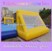 PVC tarpaulin giant inflatable water football playground
