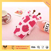 lovel diraffe shaped phone case for iphone 6,6plus ,wholesale stylish silicone phone cases